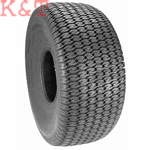 TIRE 25 X 12.00-9 TURF TRAC 2 PLY CARLISLE, FITS JOHN DEERE GATOR REAR TIRE AND DIXIE CHOPPER