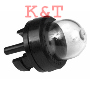 GAS FUEL PRIMER BULB PUMP SNAP IN TYPE 2 PORTS