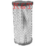 "AIR FILTER OD 3-1/2"", ID 1-27/32"", Length 7-1/4"""
