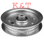 "IDLER PULLEY REPLACES CUB CADET 01004101, 02004447.  ID 3/8"", OD 4.88"", HEIGHT 1""."