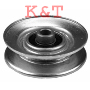 "IDLER PULLEY REPLACES AYP 199532, 179050 ID 5/16"", OD 2-1/2"", HEIGHT 1/2"""