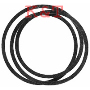 "DECK DRIVE BELT.  REPLACES AYP 175436. 3/8"" x 32"".  FITS 21"" REAR BAGGER, SELF PROPELLED MOWER.  GENERAL PURPOSE, ARAMID CORD CONSTRUCTION, DOUBLE CLUTCHING COVER."