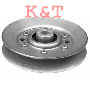 "V-IDLER PULLEY.  ID 3/8"", OD 4-1/4"", HEIGHT 11/16"".  REPLACES AYP 146763.  FITS 46"" DECKS."