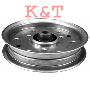 "IDLER PULLEY.  ID 3/8"", OD 4-1/2"" Height 1-1/8"".   MTD 756-04129 & CUB CADET FLAT IDLER PULLEY."