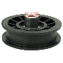 "IDLER PULLEY ID 3/8"", OD 3-1/2"", Height 1-1/2"""