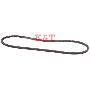 "SNOW BLOWER DRIVE BELT 3/8"" X 34.4"""