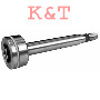 Mandrel shaft with bearing replaces AYP 165482. Mandrel shaft for our 9574 spindle assembly. Includes our lower bering 442 if upper bearing is needed order # 8507
